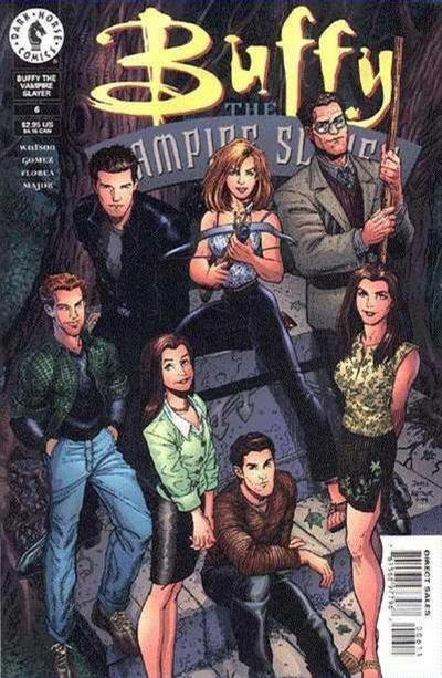 Cover for Buffy the Vampire Slayer (Dark Horse, 1998 series) #6