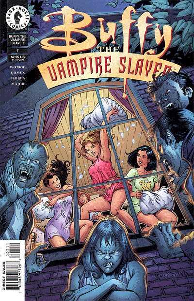 Cover for Buffy the Vampire Slayer (1998 series) #7