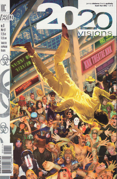 Cover for 2020 Visions (DC, 1997 series) #1