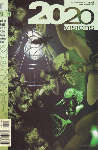 Cover for 2020 Visions (DC, 1997 series) #11