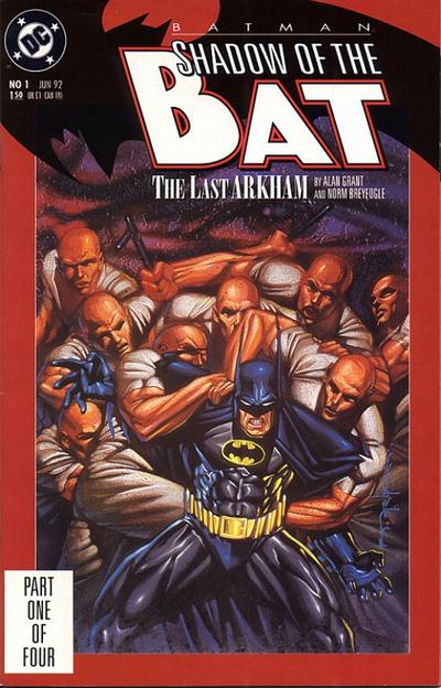 Cover for Batman: Shadow of the Bat (DC, 1992 series) #1