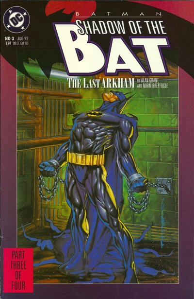Cover for Batman: Shadow of the Bat (DC, 1992 series) #3