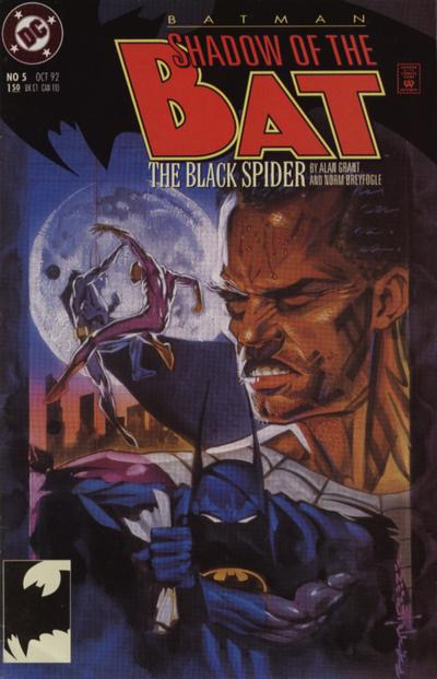 Cover for Batman: Shadow of the Bat (DC, 1992 series) #5