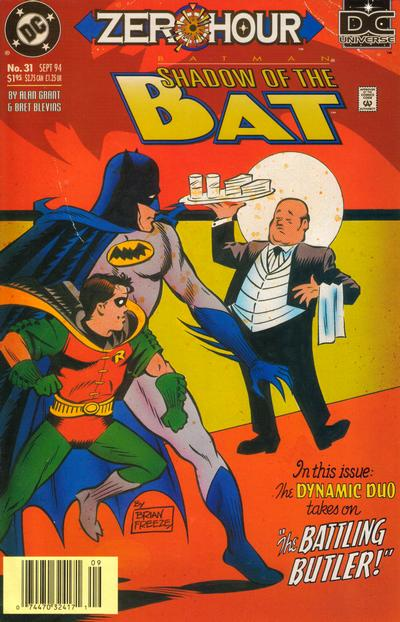 Cover for Batman: Shadow of the Bat (DC, 1992 series) #31 [Newsstand]
