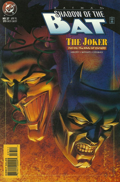 Cover for Batman: Shadow of the Bat (DC, 1992 series) #37