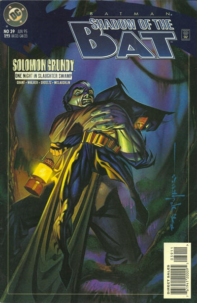 Cover for Batman: Shadow of the Bat (DC, 1992 series) #39