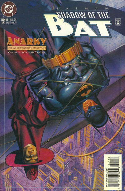 Cover for Batman: Shadow of the Bat (DC, 1992 series) #41