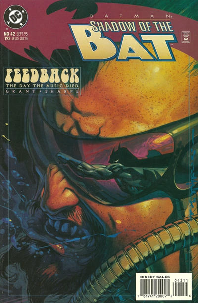 Cover for Batman: Shadow of the Bat (DC, 1992 series) #42