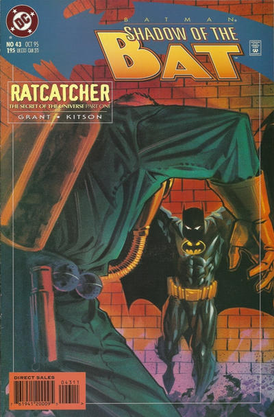 Cover for Batman: Shadow of the Bat (DC, 1992 series) #43