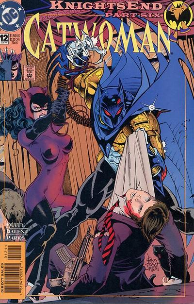 Cover for Catwoman (1993 series) #12