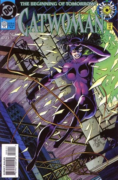 Cover for Catwoman (DC, 1993 series) #0