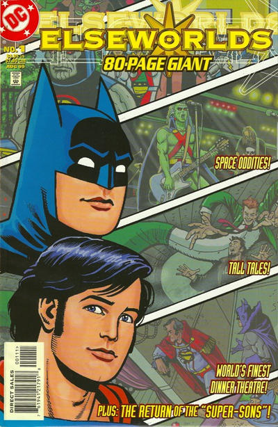 Cover for Elseworlds 80-Page Giant (1999 series) #1