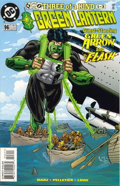 Cover for Green Lantern (DC, 1990 series) #96