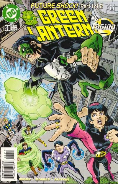 Cover for Green Lantern (DC, 1990 series) #98