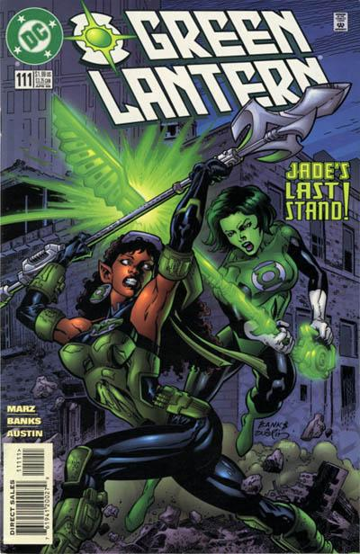 Cover for Green Lantern (DC, 1990 series) #111