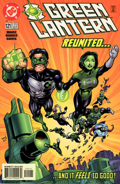 Cover for Green Lantern (DC, 1990 series) #121