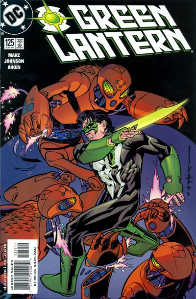 Cover for Green Lantern (DC, 1990 series) #125
