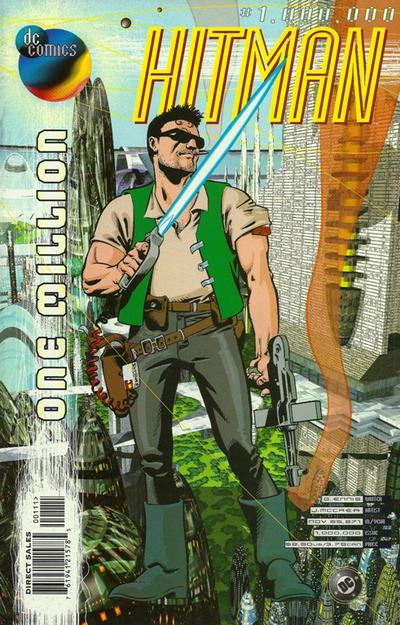 Cover for Hitman (DC, 1996 series) #1,000,000