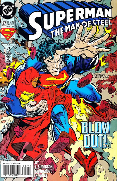 Cover for Superman: The Man of Steel (1991 series) #27