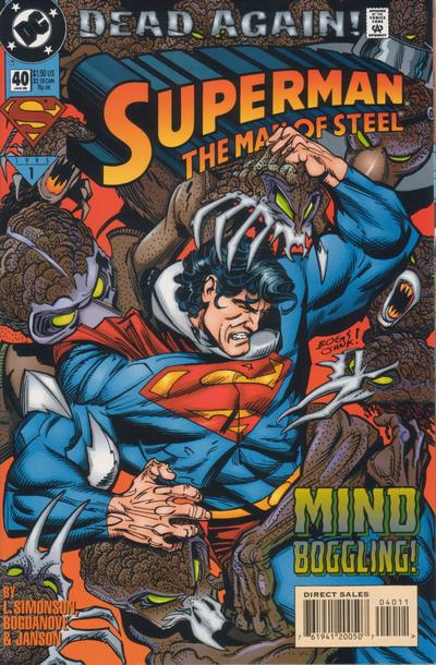 Cover for Superman: The Man of Steel (DC, 1991 series) #40
