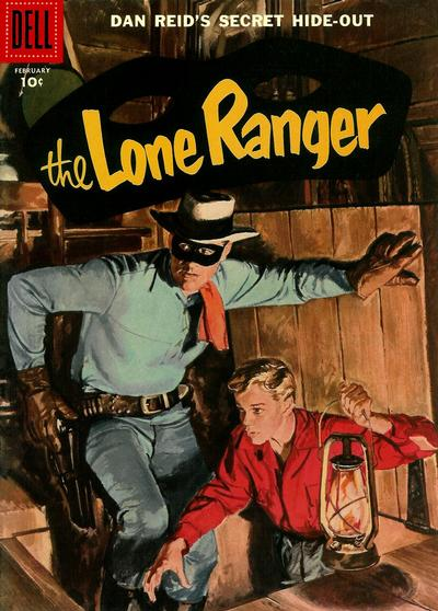 Cover for The Lone Ranger (Dell, 1948 series) #104