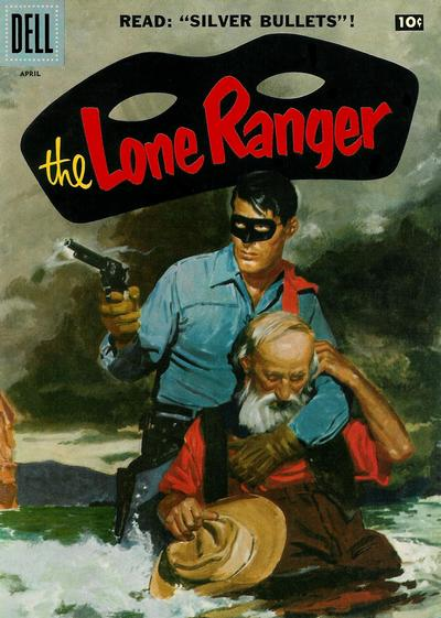 Cover for The Lone Ranger (Dell, 1948 series) #106