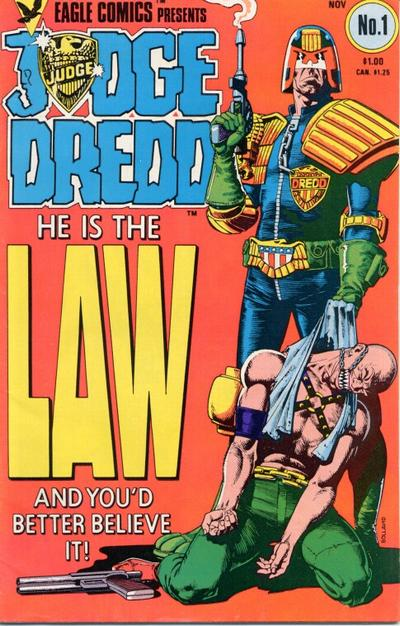Cover for Judge Dredd (1983 series) #1