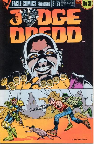 Cover for Judge Dredd (1983 series) #31