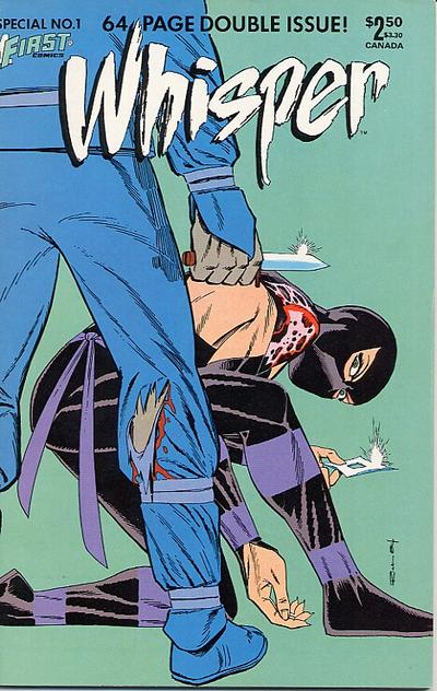 Cover for Whisper Special (First, 1985 series) #1