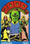 Cover for 2000 AD Annual (Fleetway Publications, 1978 series) #1981