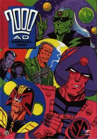 Cover Thumbnail for 2000 AD Annual (Fleetway Publications, 1978 series) #1991