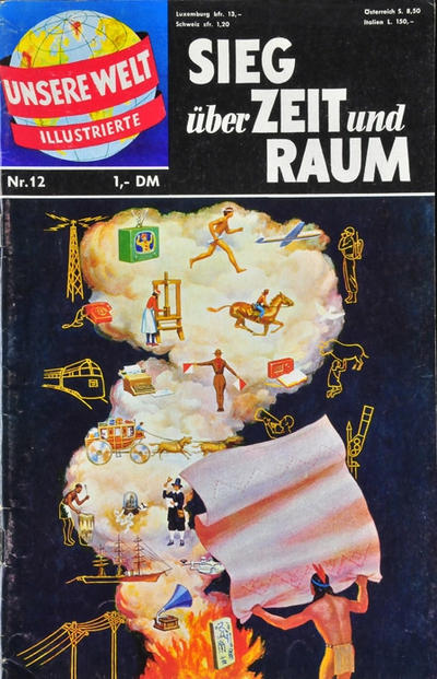 Cover for Unsere Welt Illustrierte (BSV - Williams, 1962 series) #12