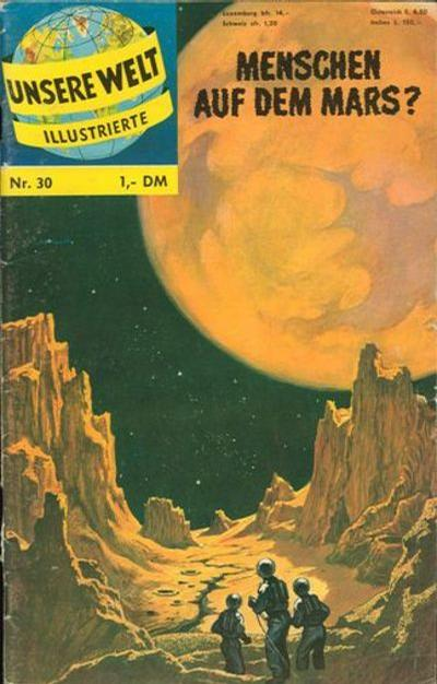 Cover for Unsere Welt Illustrierte (BSV - Williams, 1962 series) #30