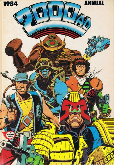 Cover for 2000 AD Annual (Fleetway Publications, 1978 series) #1984