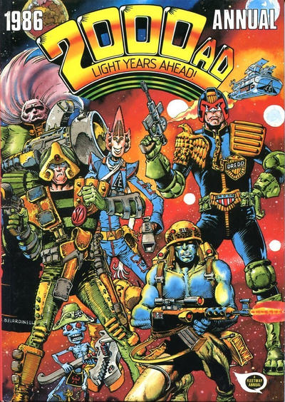 Cover for 2000 AD Annual (Fleetway Publications, 1978 series) #1986