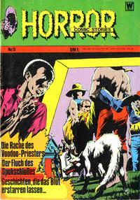 Cover Thumbnail for Horror (BSV - Williams, 1972 series) #9