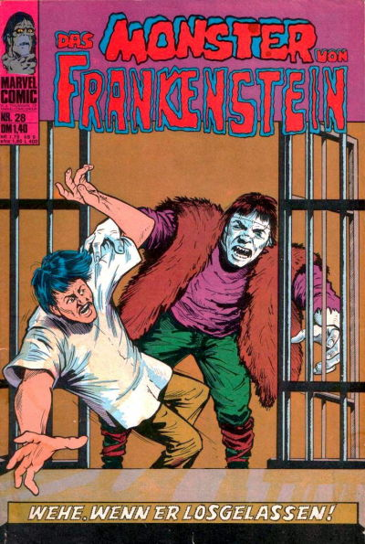 Cover for Frankenstein (1974 series) #28