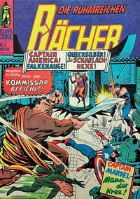 Cover Thumbnail for Die ruhmreichen Rächer (BSV - Williams, 1974 series) #17