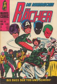 Cover Thumbnail for Die Rcher (BSV - Williams, 1974 series) #59