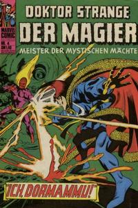 Cover Thumbnail for Doktor Strange der Magier (BSV - Williams, 1975 series) #4