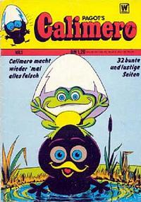 Cover Thumbnail for Calimero (BSV - Williams, 1973 series) #1