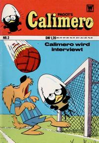 Cover Thumbnail for Calimero (BSV - Williams, 1973 series) #2