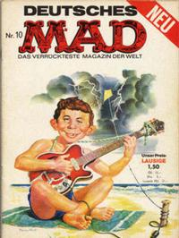 Cover Thumbnail for Mad (BSV - Williams, 1967 series) #10