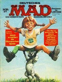 Cover Thumbnail for Mad (BSV - Williams, 1967 series) #37