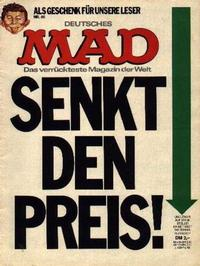 Cover Thumbnail for Mad (BSV - Williams, 1967 series) #80