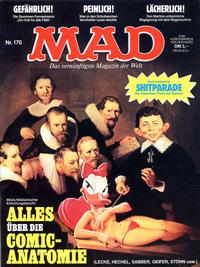Cover Thumbnail for Mad (BSV - Williams, 1967 series) #170