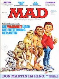 Cover Thumbnail for Mad (BSV - Williams, 1967 series) #171