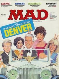 Cover Thumbnail for Mad (BSV - Williams, 1967 series) #207