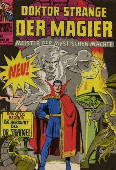 Cover for Doktor Strange der Magier (BSV - Williams, 1975 series) #1