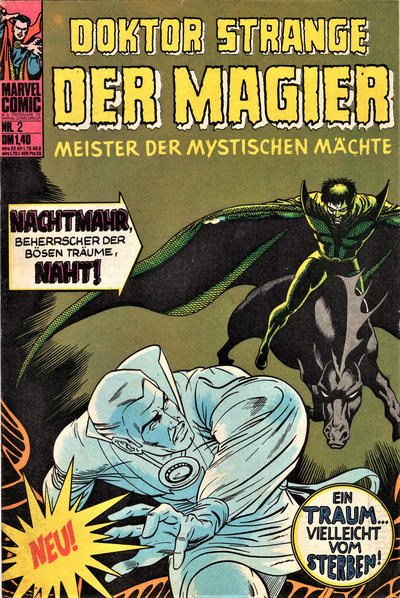 Cover for Doktor Strange Der Magier (BSV - Williams, 1975 series) #2